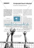 Sport, soziale Fähigkeiten, Ballsport, Organisation, Volleyball, Freizeit