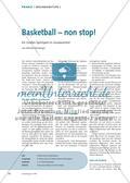 Sport, Fitness, Ballsport, Ausdauer, Basketball, spiele
