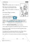 Unterrichtseinheit für Klassen 7-8 - A Birthday Story: Übungen + Hinweise Thumbnail 2