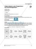Satzbildung bei verneinten Sätzen, Entscheidungsfragen, W-Fragen: Lernspiele Thumbnail 2