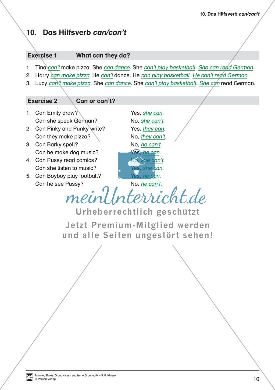 Die Personalpronomen: Erklärung + Beispiele + Übungen Preview 13