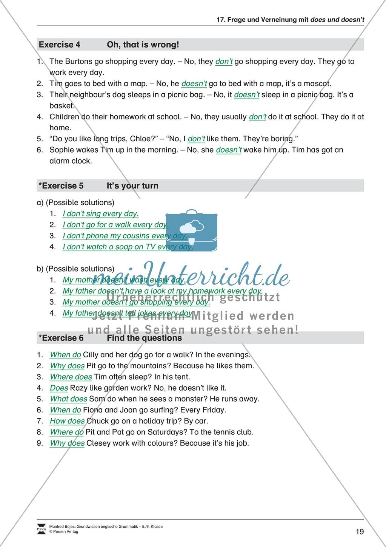 Die Personalpronomen: Erklärung + Beispiele + Übungen Preview 22