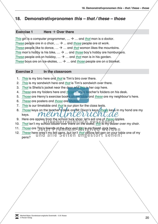 Die Personalpronomen: Erklärung + Beispiele + Übungen Preview 23