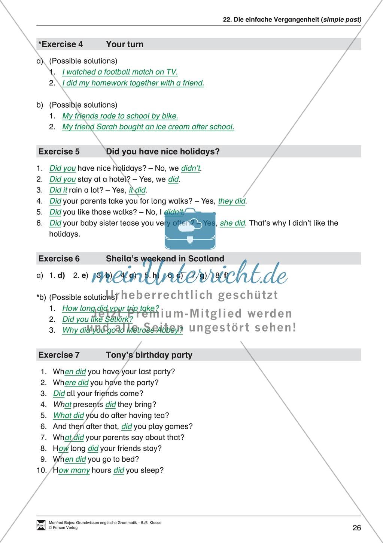 Die Personalpronomen: Erklärung + Beispiele + Übungen Preview 29