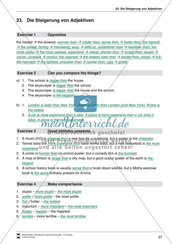 Die Personalpronomen: Erklärung + Beispiele + Übungen Preview 30