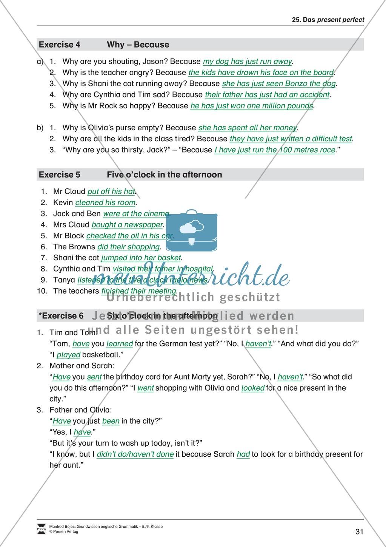 Die Personalpronomen: Erklärung + Beispiele + Übungen Preview 34