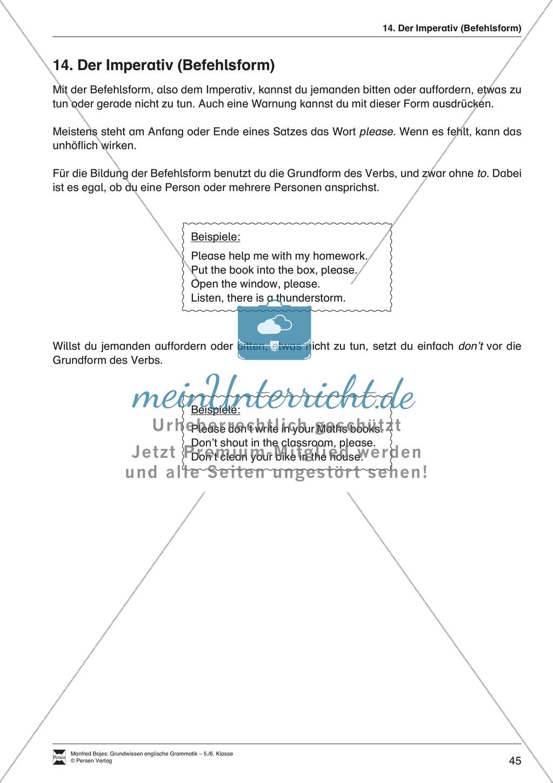 Der Imperative (Befehlsform): Erklärung + Beispiele + Übungen ...