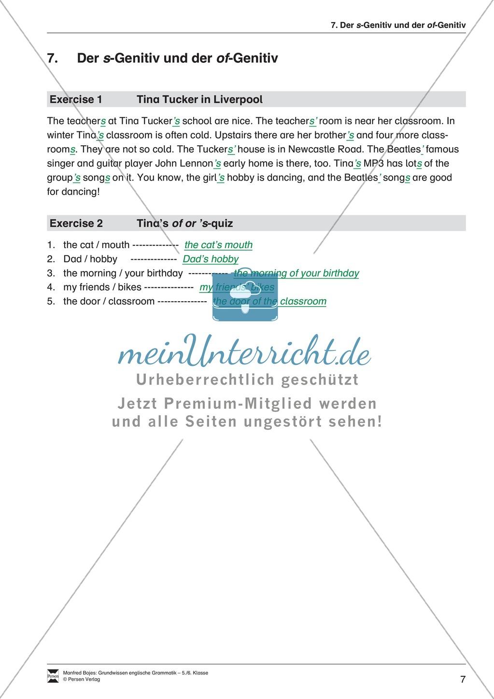Die Personalpronomen (Objektformen): Erklärung + Beispiele + Übungen Preview 10