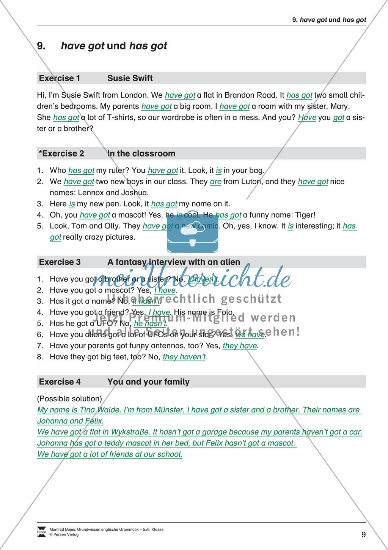 Die Personalpronomen (Objektformen): Erklärung + Beispiele + Übungen Preview 12