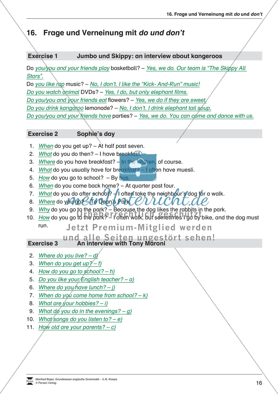 Die Personalpronomen (Objektformen): Erklärung + Beispiele + Übungen Preview 19