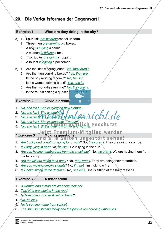 Die Personalpronomen (Objektformen): Erklärung + Beispiele + Übungen Preview 25