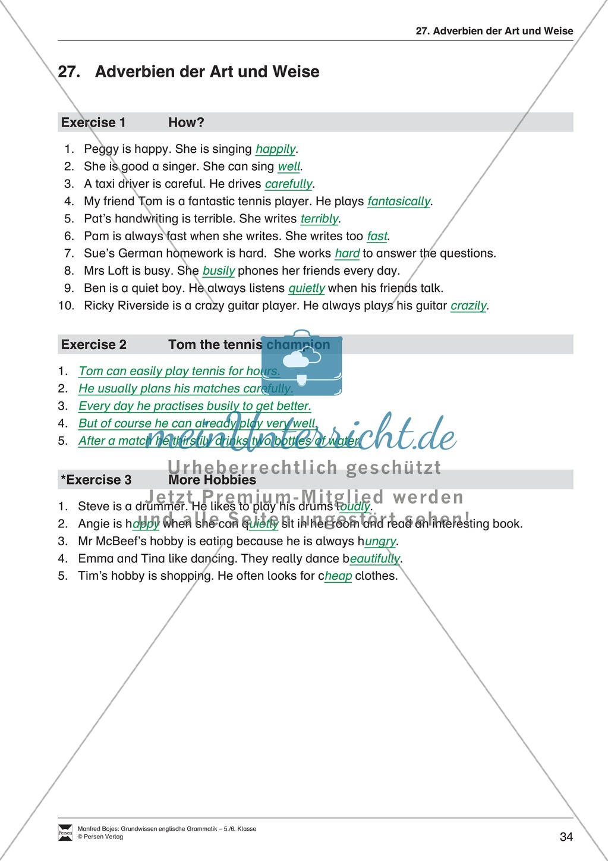 Die Personalpronomen (Objektformen): Erklärung + Beispiele + Übungen Preview 37