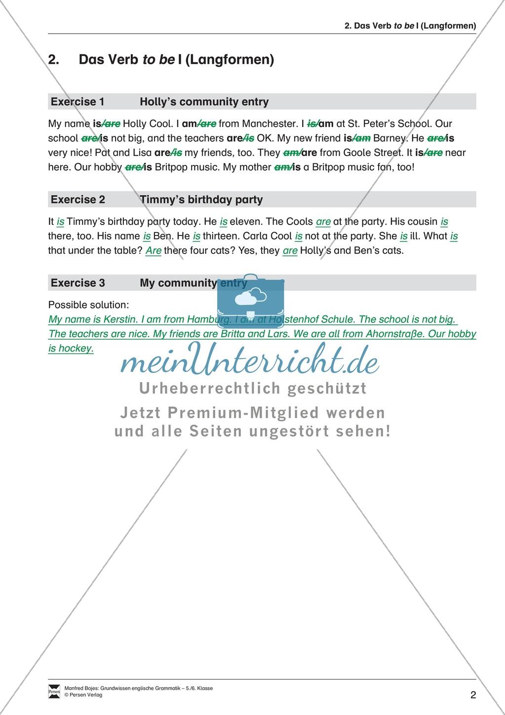 Die Personalpronomen (Objektformen): Erklärung + Beispiele + Übungen Preview 5