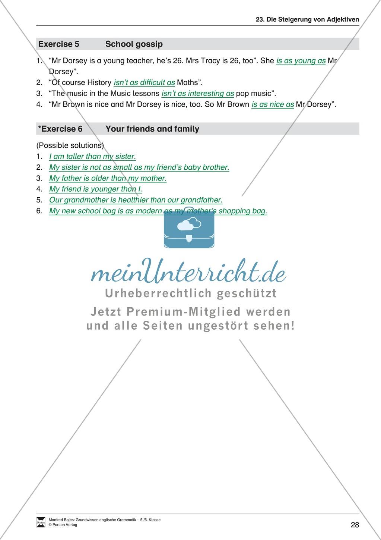Die Demonstrativpronomen this, that und these, those: Erklärung + Beispiele + Übungen Preview 30