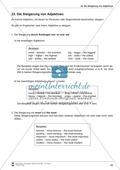 Englisch, Grammatik, Adjektive / adjectives, Adjectives, übungen, steigerung, Grammatik, Adjektive