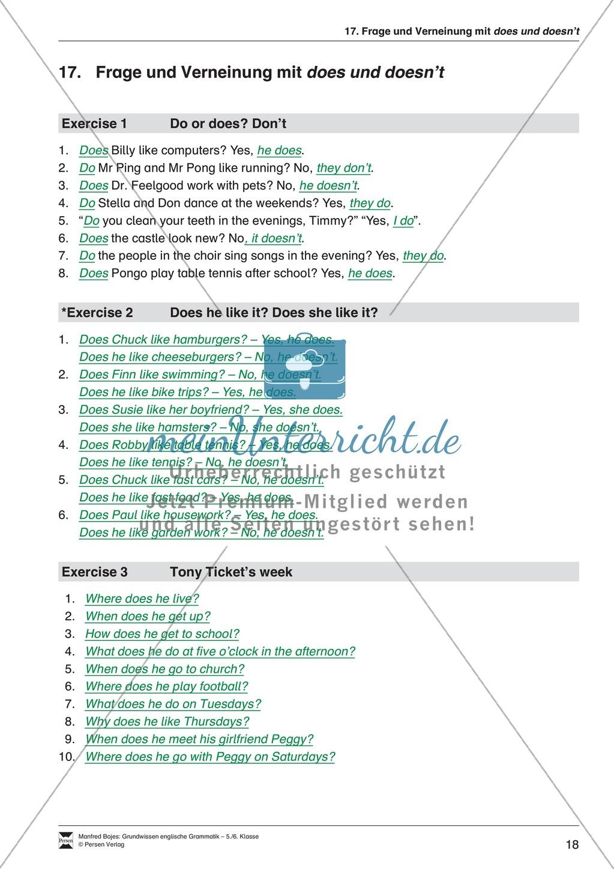 Bestätigungsfragen (question tags): Erklärung + Beispiele + Übungen Preview 19