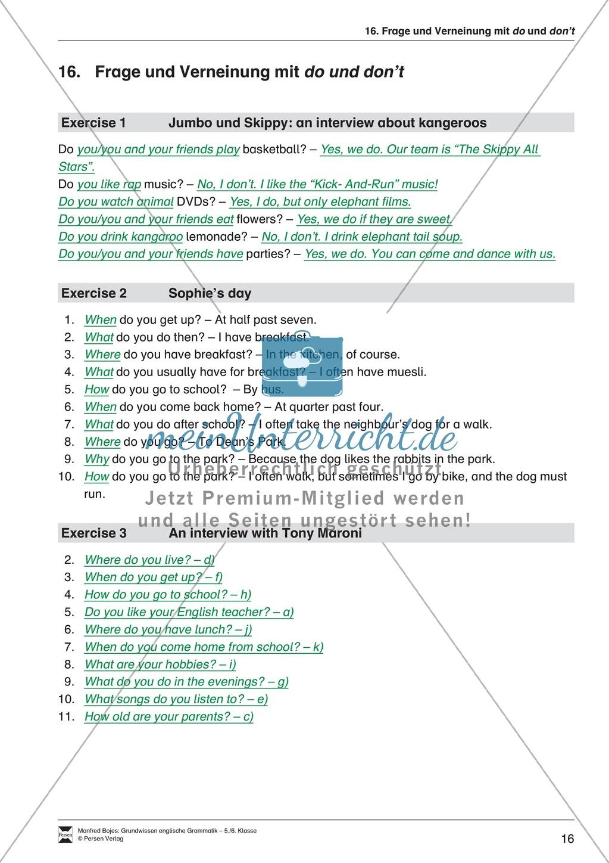 Will-future: Erklärung + Beispiele + Übungen Preview 20