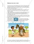 Unterrichtsstunden zum Umgang mit (indischen) Märchen: Geschichten inhaltlich erschließen und vortragen. Mit Arbeitsblatt und didaktischen Erläuterungen. Preview 3