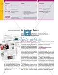 Unterrichtseinheit zur Arbeit mit Zeitungsartikeln: Inhaltliche und strukturelle Erfassung von Artikeln, eigene Artikel schreiben. Mit hilfreichen Links, Arbeitsblättern und didaktischen Erläuterungen. Preview 1