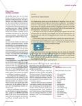 Unterrichtseinheit zur Arbeit mit Zeitungsartikeln: Inhaltliche und strukturelle Erfassung von Artikeln, eigene Artikel schreiben. Mit hilfreichen Links, Arbeitsblättern und didaktischen Erläuterungen. Preview 2