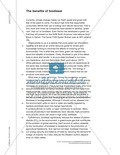 Unterrichtsstunden zum Arbeiten mit Sachtexten: Argumente aus Sachtexten entnehmen und diskutieren. Mit Sachtexten und didaktischen Erläuterungen sowie Material für die Prüfung des Leseverständnisses. Preview 3