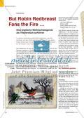 But Robin Redbreast Fans the Fire … - Eine englische Weihnachtslegende als Theaterstück aufführen Preview 1