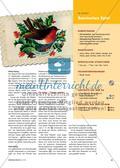 But Robin Redbreast Fans the Fire … - Eine englische Weihnachtslegende als Theaterstück aufführen Preview 2