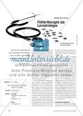 Fehlertherapie als Lernstrategie Preview 1