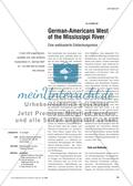 German-Americans West of the Mississippi River - Eine webbasierte Entdeckungsreise Preview 1
