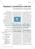 """""""Almabtrieb"""" is something like a cattle drive - Sprachmittlungskompetenz systematisch schulen Preview 1"""