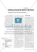 Halfway Around the World in 80 Clicks - Im Weblog mit einer Partnerklasse diskutieren Preview 1