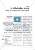 Englisch, Themen, Kompetenzen, Landeskunde, Ausbildung und Arbeitsumwelt, Kommunikative Fertigkeiten, America, Länder, Lesen / reading, Lesestrategien
