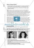 Schein und Sein - Schönheitsideale an einer Kurzgeschichte und Videoclips diskutieren Preview 5