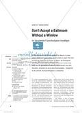 Don't Accept a Bathroom Without a Window. Im Sprachendorf Sprechaufgaben bewältigen: Praxisartikel Thumbnail 0