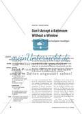 Don't Accept a Bathroom Without a Window - Im Sprachendorf Sprechaufgaben bewältigen Preview 1
