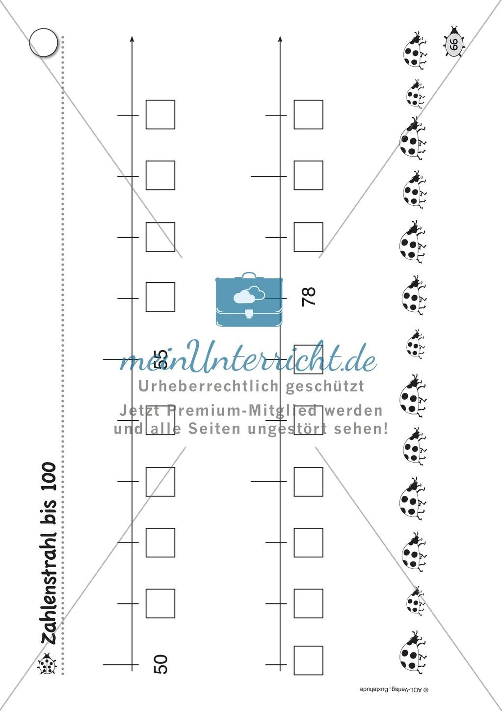 Übungsblätter für das Fach Mathematik zum Thema