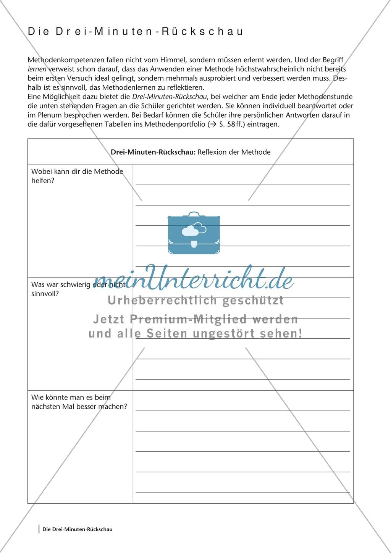 Methodenkompetenz: Wissensquiz zur Vorbereitung einer Klassenarbeit Preview 0