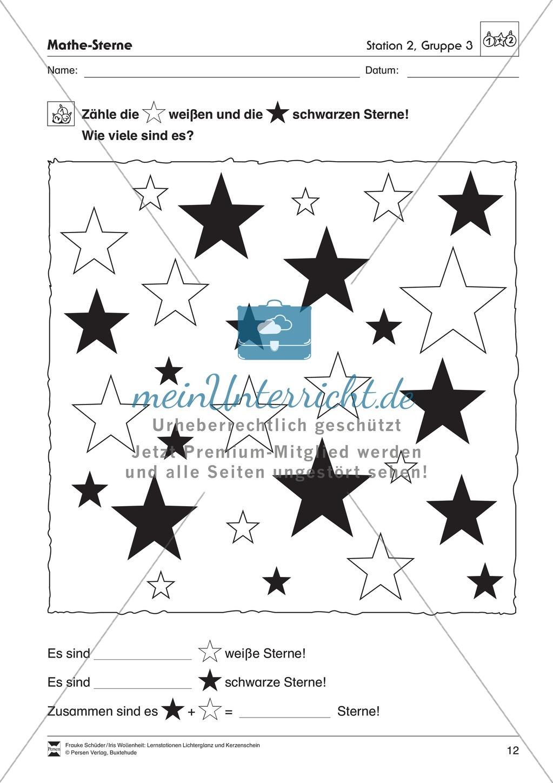 Stationen- bzw. Gruppenarbeit zum Thema Weihnachten + detaillierte Materialliste für die Stationen Preview 11