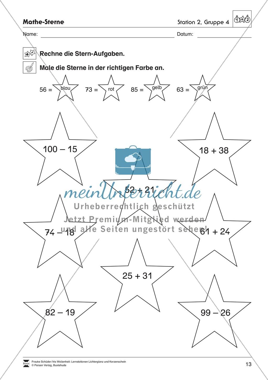 Stationen- bzw. Gruppenarbeit zum Thema Weihnachten + detaillierte Materialliste für die Stationen Preview 12