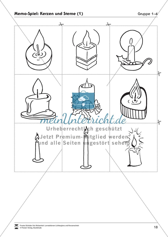 Stationen- bzw. Gruppenarbeit zum Thema Weihnachten + detaillierte Materialliste für die Stationen Preview 17
