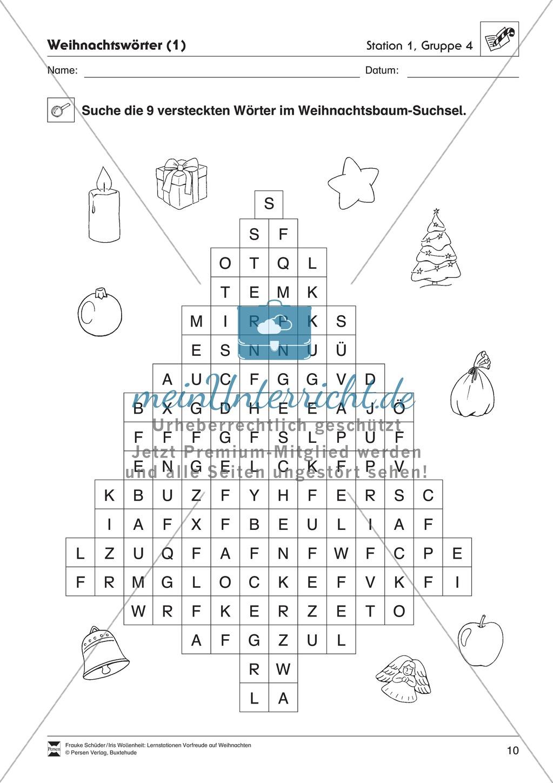 Stations-/Gruppenarbeit zum Thema Weihnachten mit verschiedenen Fächerschwerpunkten Preview 9