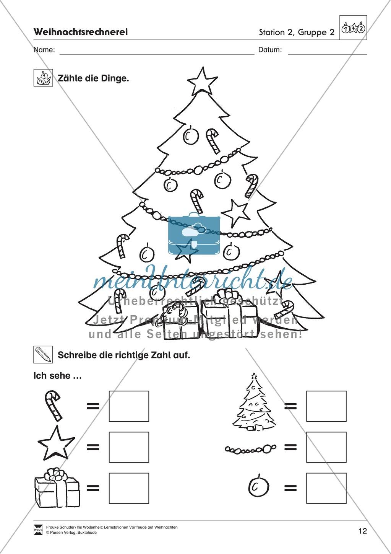 Stations-/Gruppenarbeit zum Thema Weihnachten mit verschiedenen Fächerschwerpunkten Preview 11