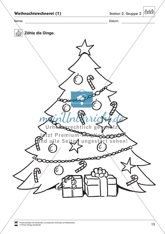 Stations-/Gruppenarbeit zum Thema Weihnachten mit verschiedenen Fächerschwerpunkten Preview 12