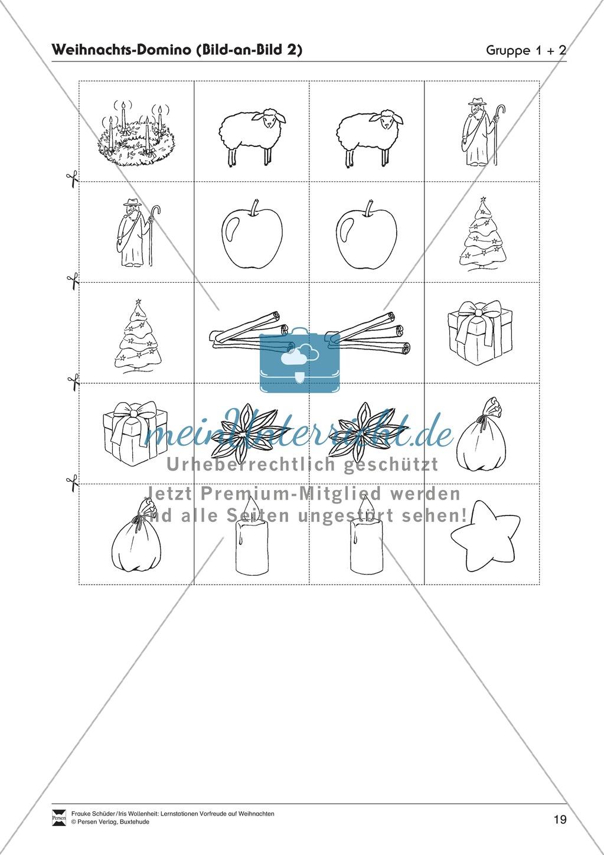 Stations-/Gruppenarbeit zum Thema Weihnachten mit verschiedenen Fächerschwerpunkten Preview 18