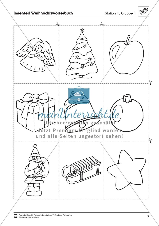 Stations-/Gruppenarbeit zum Thema Weihnachten mit verschiedenen Fächerschwerpunkten Preview 6