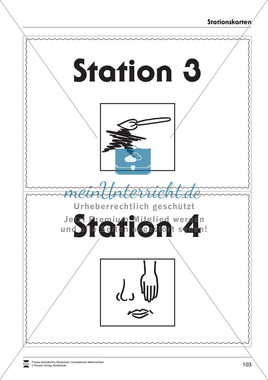 Stationsarbeit zum Thema Lichterglanz und Kerzenschein Preview 19