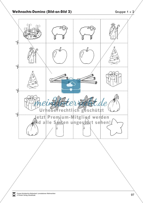 Stationsarbeit zum Thema Vorfreude auf Weihnachten Preview 18