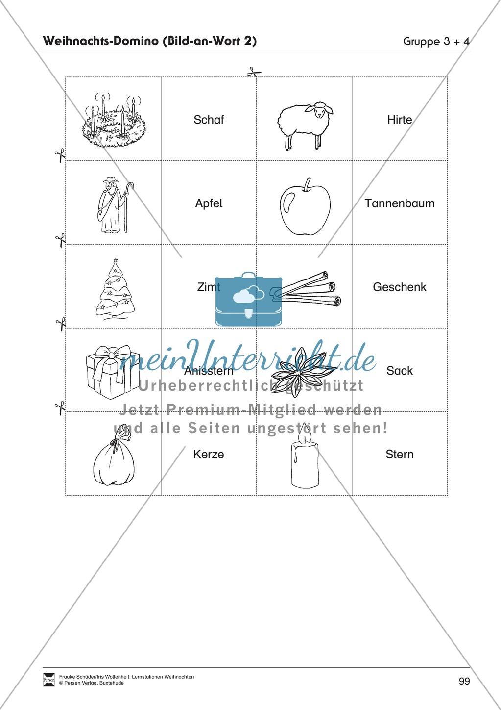 Stationsarbeit zum Thema Vorfreude auf Weihnachten Preview 20