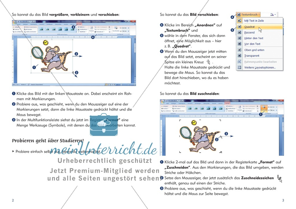 Niedlich Satz Ausschneiden Und Einfügen Arbeitsblatt Bilder - Super ...