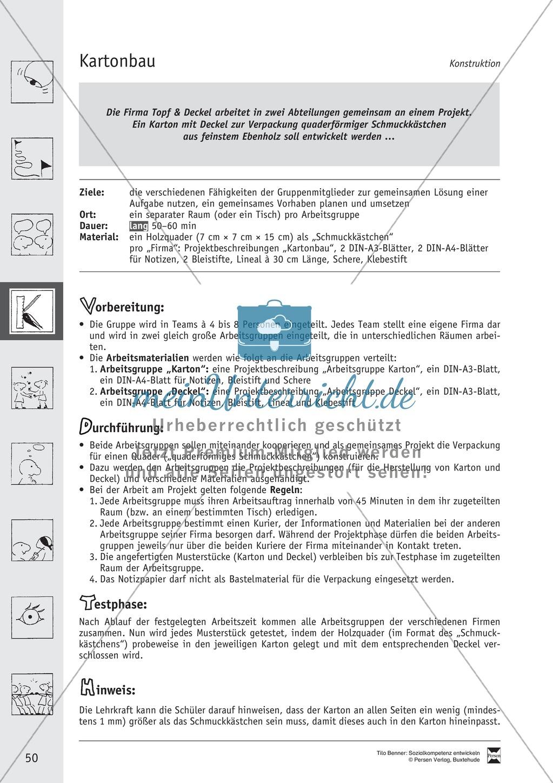 Soft Skills: Spiele zur Förderung des Zusammenhaltes innerhalb der Gruppe Preview 12